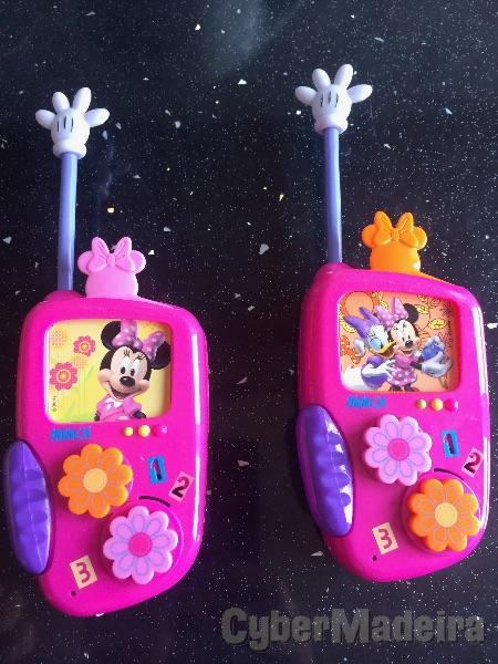 Mini Mouse Walkie Talkie.
