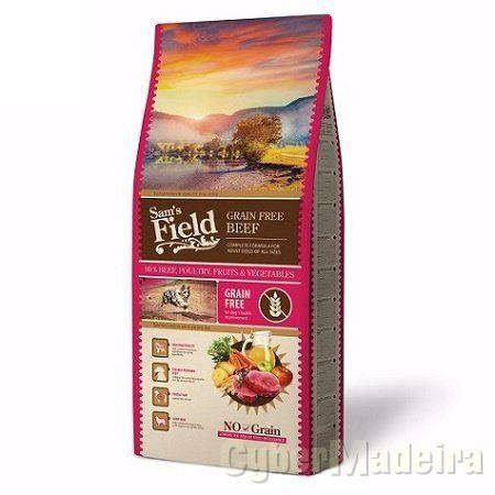 Sam´s field bife sem cereais adulto 13KG