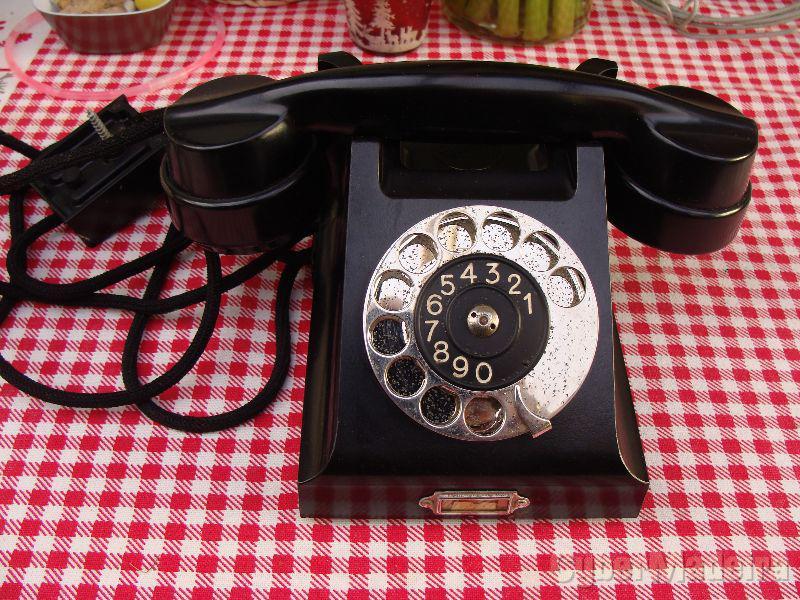 telefone Ericsson muito antigo anos 50/ 60