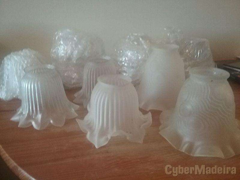 Tulipas  de vidro