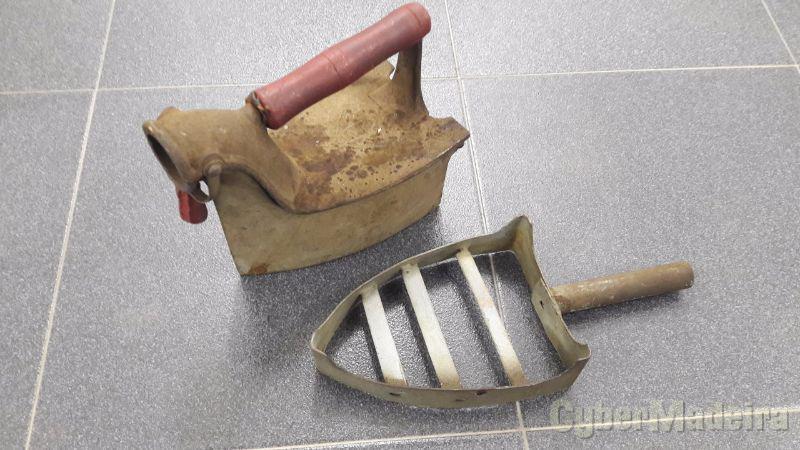 Ferro A carvão + base