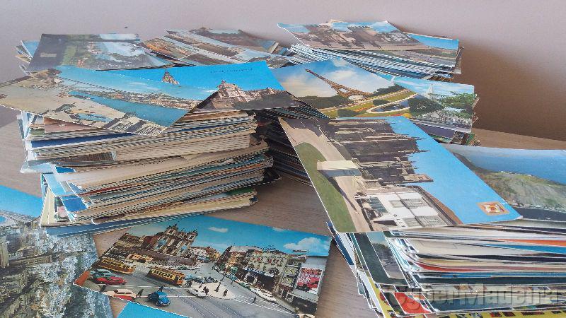 Centenas de postais antigos  portugal E outros países   entre 700 E 800