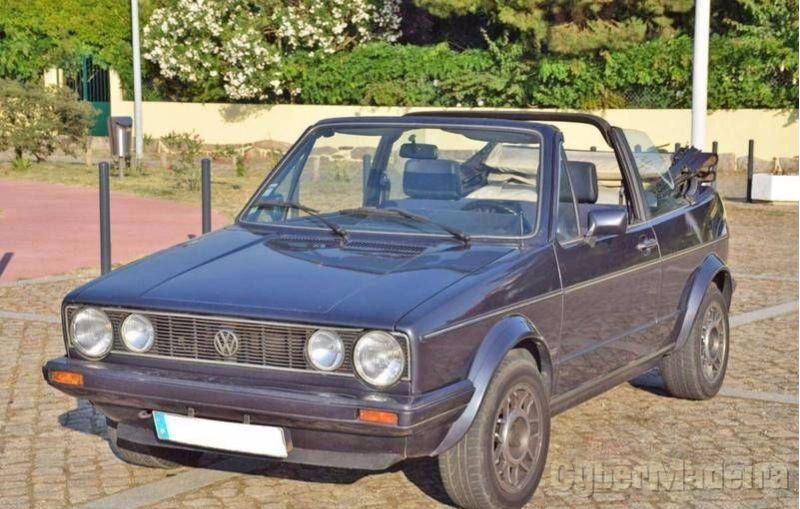 VOLKSWAGEN GOLF mk1 1.8 cabrio Gasolina
