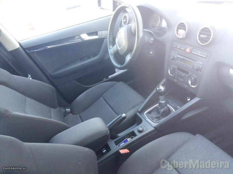 AUDI A3 2.0 Tdi Sportback 170 cv Gasóleo