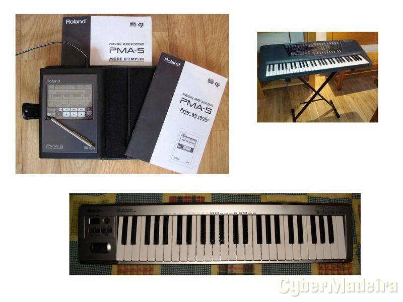 Synthesizer - controller PC-50 - home keyboards
