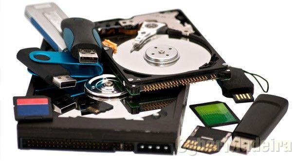 Recuperação de Ficheiros Apagados em Cartões de Memória e pens USB