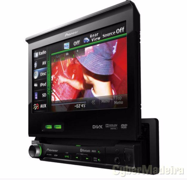 Pioneer AVH-6300BT  auto radio dvd, usb, ecran touch
