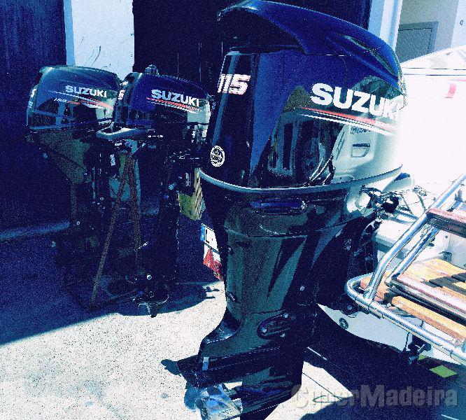 SUZUKI DF115A -- Madeira - Porto Santo