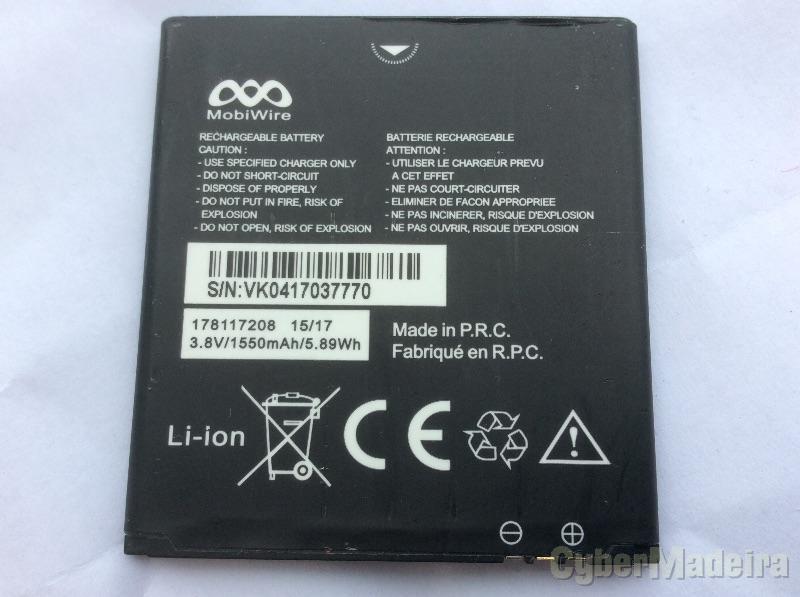 Bateria telemovel starshine 5