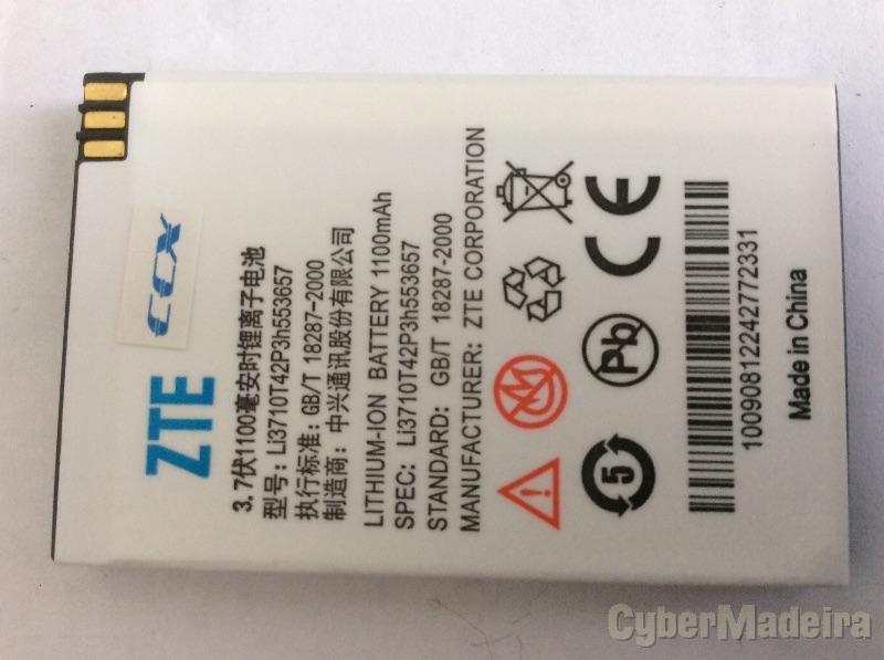 Bateria original zte LI3710T42P3H553657  - tmn 1200