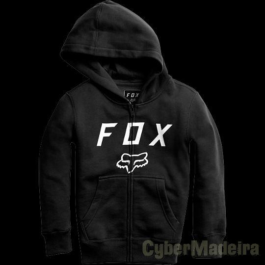 Hoodie Fox Racing Youth Legacy Moth Zip Fleece