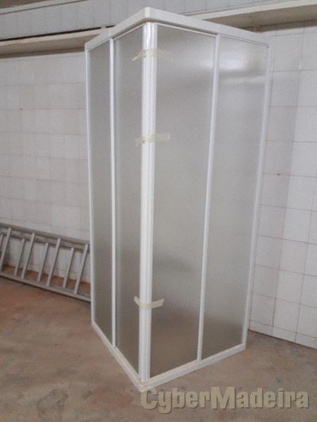 Cabine de duche quadrada 80X80X175