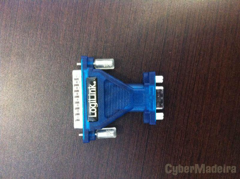Serial 9PIN to 25PIN adapter logilink