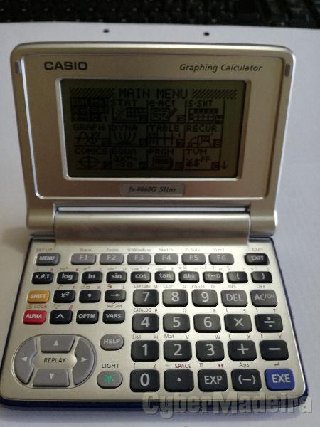Calculadora gráfica -   FX-9860 slim