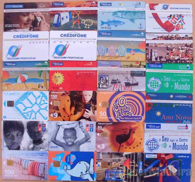 credifones  cartões telefonicos lotes 6 um euro