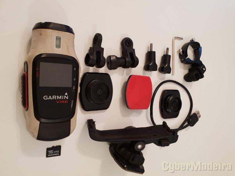 Garmin VIRB Elite - GPS Câmera POV com acessórios
