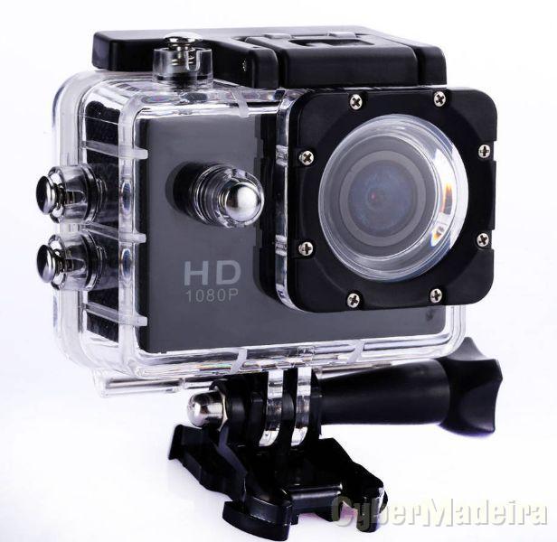 camera SPORT 2.0 Acção 1080 hd prova de água com multiplos acessórios
