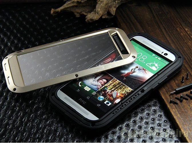 Capa Metal - Alumínio HTC One M8 - Prova de Agua e choque. Ultra resistente