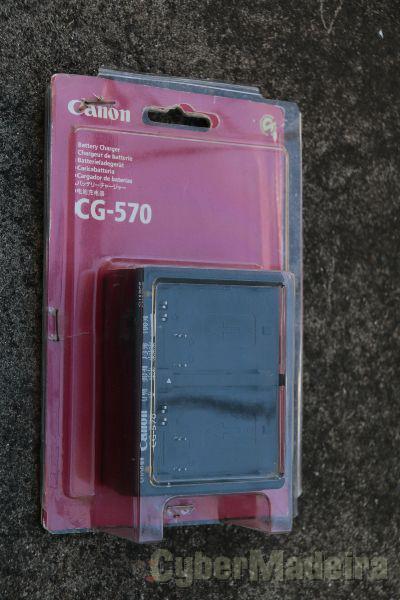 CARREGADOR DUPLO CANON CG-570
