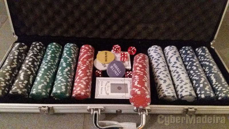 Set poker novo 500FICHAS 11.5G