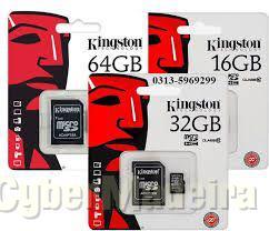 Catões micro sd de 8GB 16GB 32GB 64GB