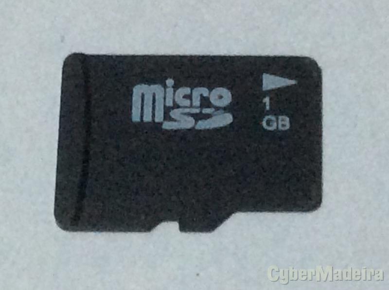 Cartão de memória microSd 1GB