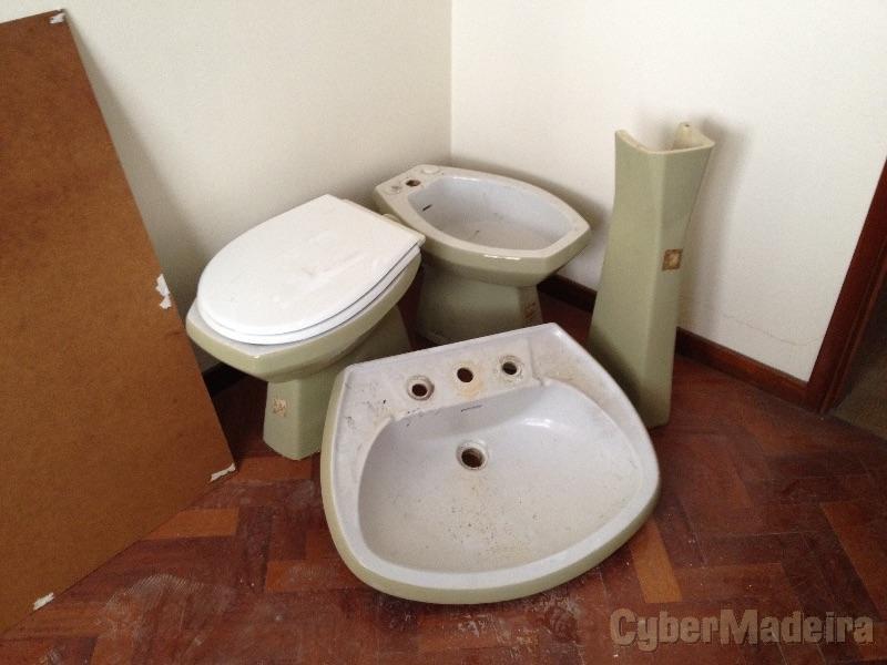 Conjunto loiça sanitária