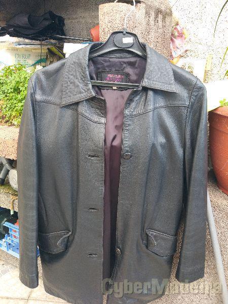 Vendo casaco pele preto - Muito bom estado