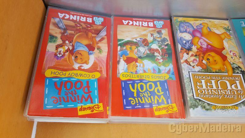 Vendo cassetes de desenhos animados