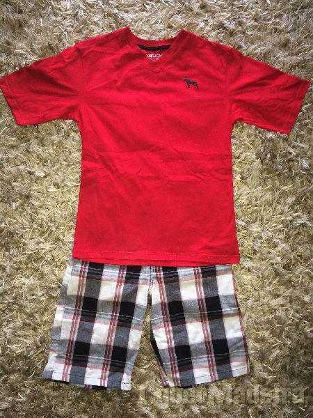 Conjunto calças E blusa para miudo