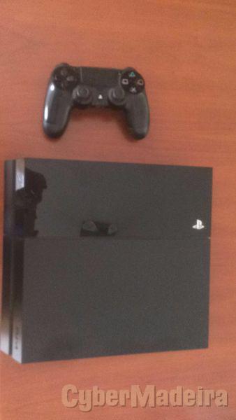 PS4 1TB em bom estado com fifa 18 em formato digital