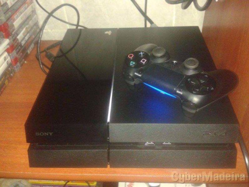 Playstation 4 500GB + dualshok 4 + gta 5