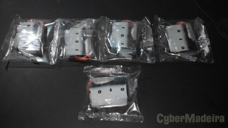 Pack Tinteiros Canon PGI5BK e CLI8BK originaisPreto
