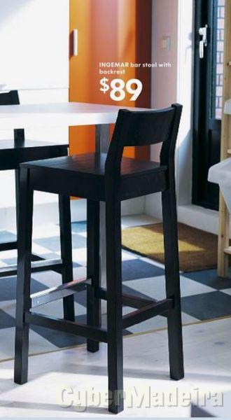 4 cadeiras altas para cozina ou bar - pague 3 leve 4