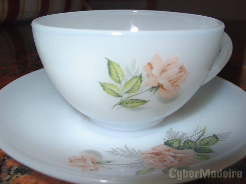 Chávenas de chá ou café