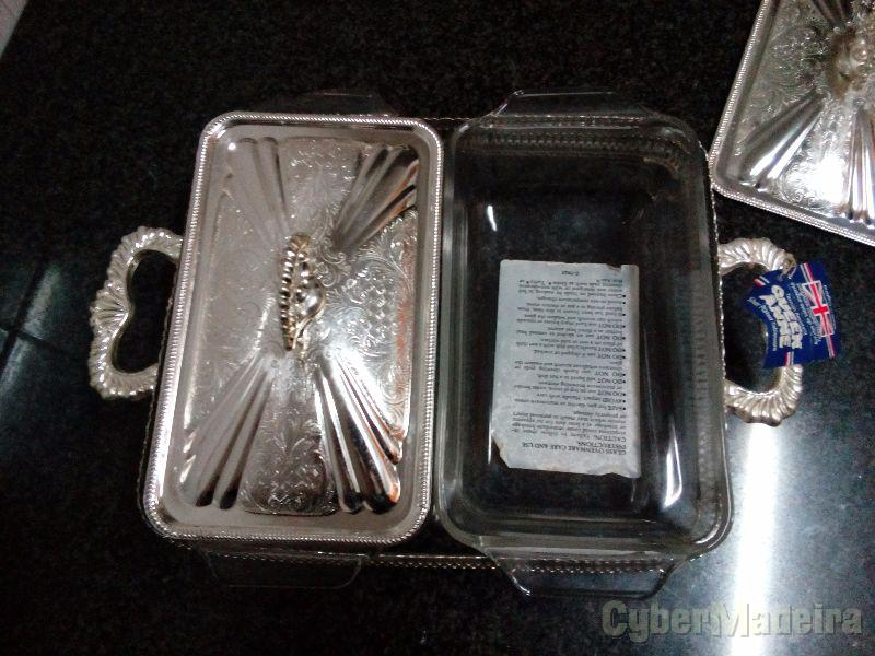 Bandeja em prata