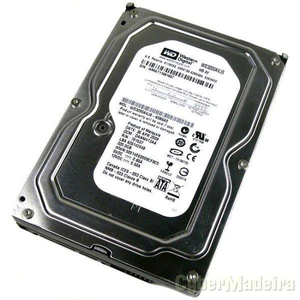 Disco Western Digital 3.5 SATA - 320GB