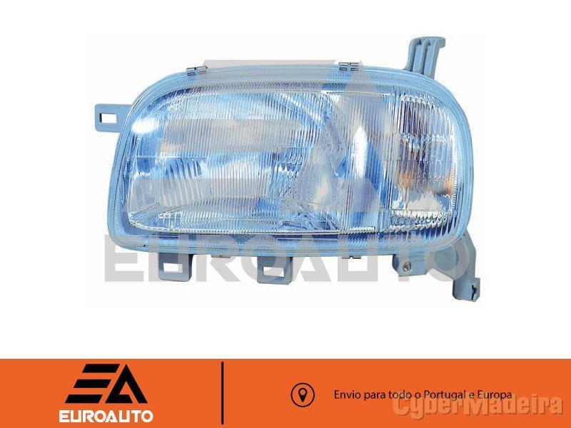 Farol Micra K11 93> Direito H4 Electrico (Valeo)