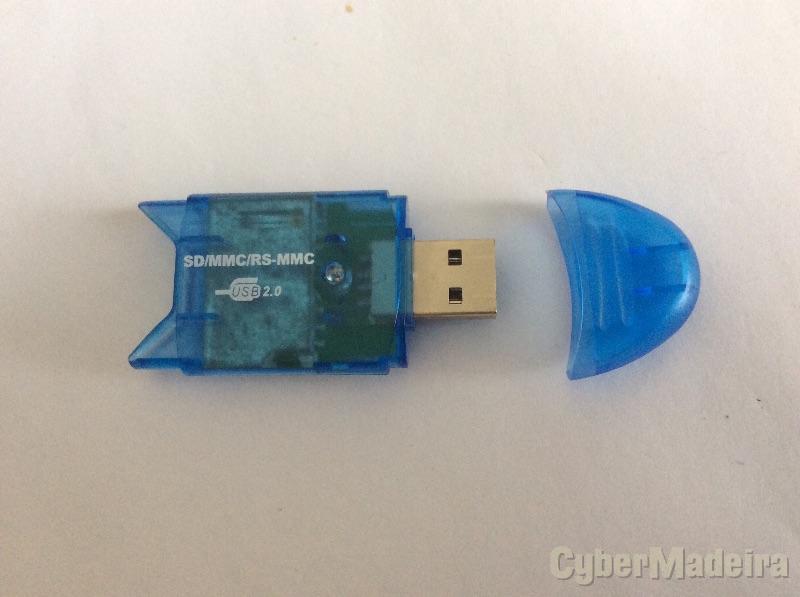 Leitor USB de cartão de memória SD , MMC , RS-MMC