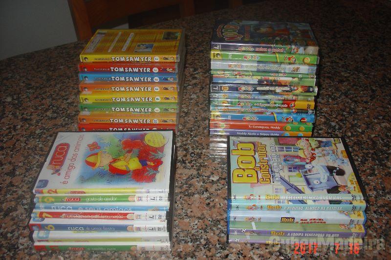 Diversos DVDs infantis