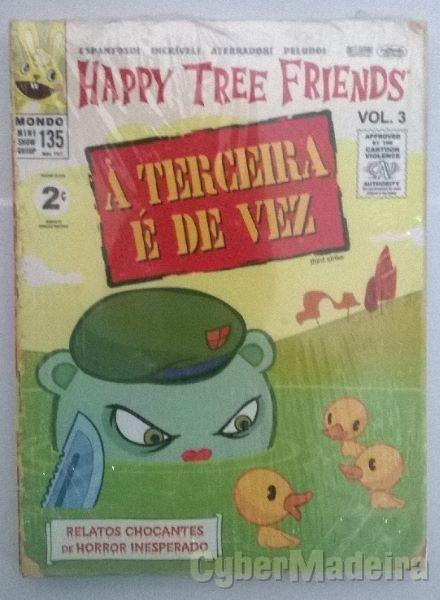 DVD de animação Happy Tree Friends - volume 3