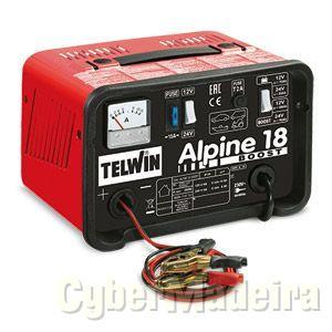Carregador Bateria Telwin ALPINE 18 BOOST 230V 12-24V