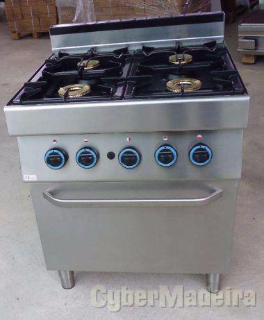 AEG fogão industrial Gás 4