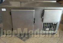 Fagor bancda de 2 m de inox refrigerada