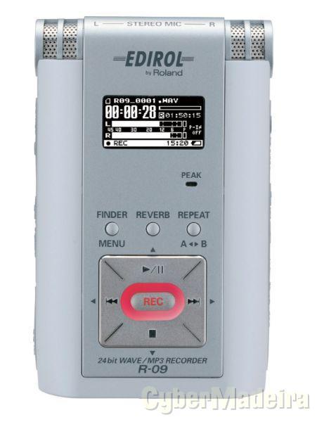 Gravador Digital profissional Roland R-09