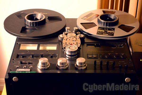 Digitalização de Bobines de Áudio Rell to Reel