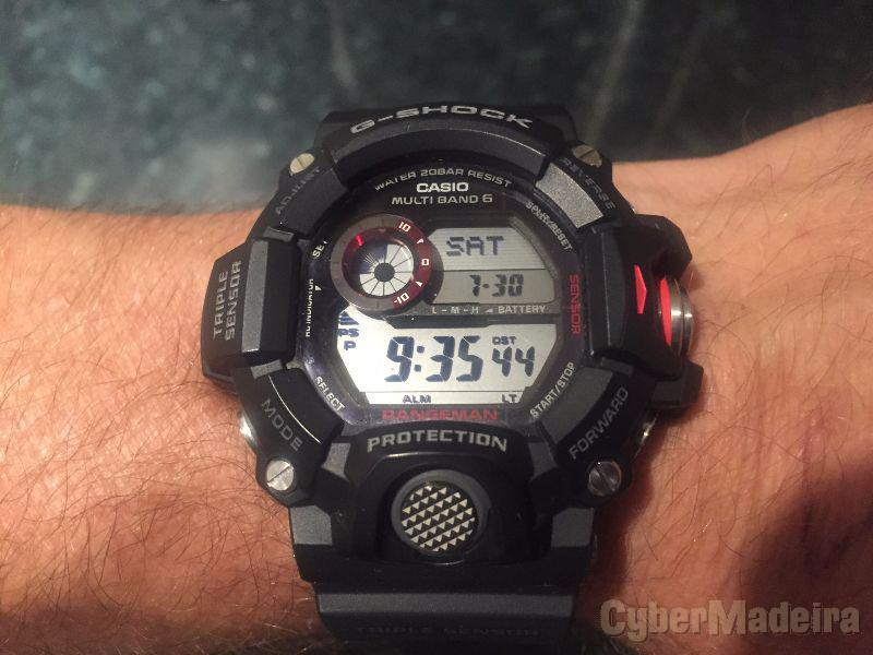 Relógio casio g-shock the rangeman