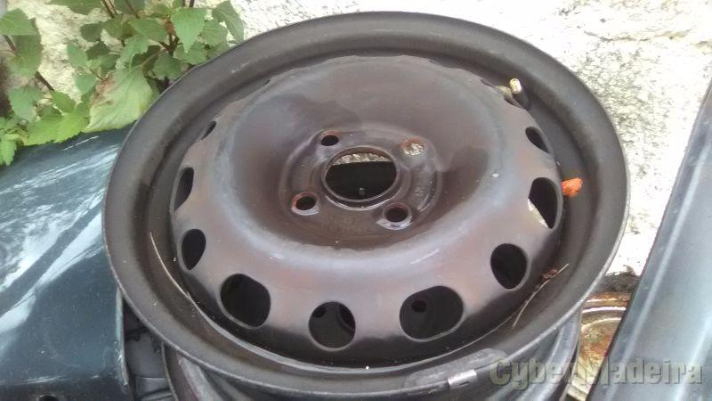 "Jantes ferro R14 14"" sem pneus"
