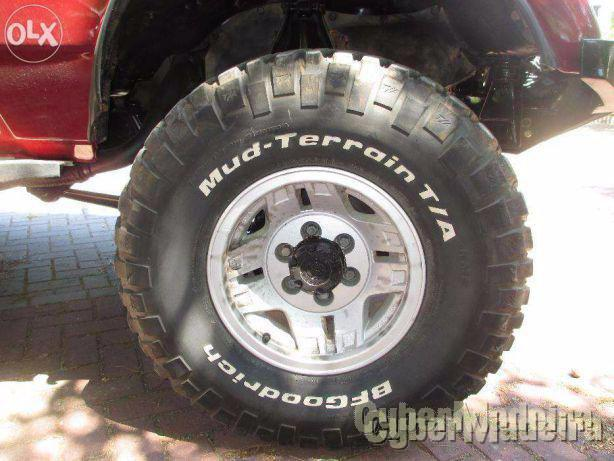 """Jantes Toyota land cruiser vx R15 originais15"""" sem pneus15"""" sem pneus"""