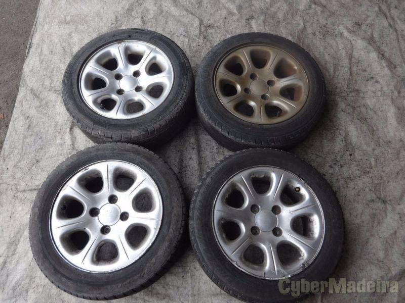 """Jantes 14 14"""" sem pneus"""